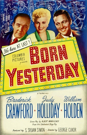 Born Yesterday - Movie Poster (thumbnail)