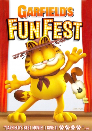 Garfield's Fun Fest - DVD cover (thumbnail)