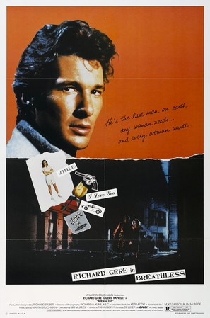 Breathless - Movie Poster (thumbnail)