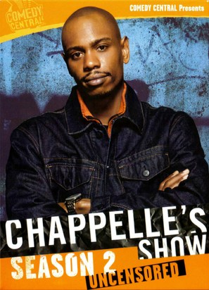 """""""Chappelle's Show"""" - DVD movie cover (thumbnail)"""