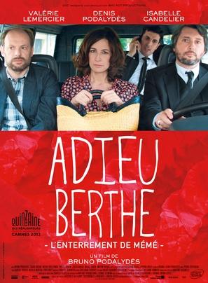 Adieu Berthe - L'enterrement de mémé - French Movie Poster (thumbnail)