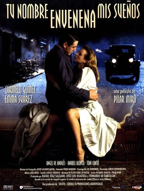 Tu nombre envenena mis sueños - Spanish Movie Poster (thumbnail)