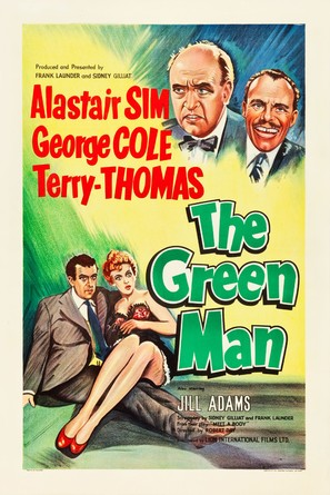 The Green Man - British Movie Poster (thumbnail)
