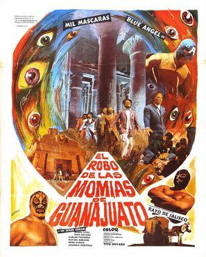 El robo de las momias de Guanajuato - Mexican Movie Poster (thumbnail)