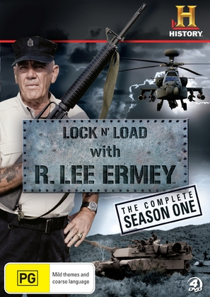 """Lock 'N Load with R. Lee Ermey"" - Australian Movie Cover (thumbnail)"