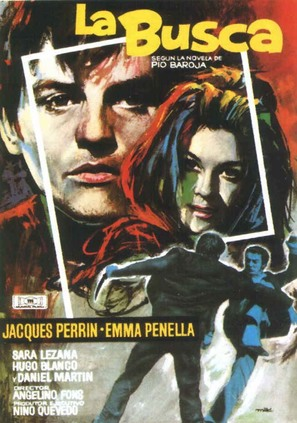 La busca - Spanish Movie Poster (thumbnail)