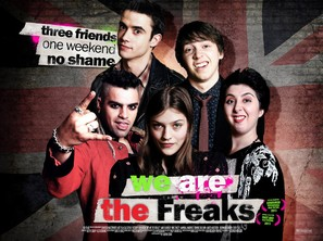 We Are the Freaks - British Movie Poster (thumbnail)