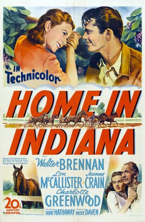 Home in Indiana - Movie Poster (thumbnail)