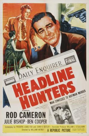 Headline Hunters - Movie Poster (thumbnail)