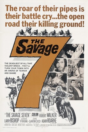 The Savage Seven - Movie Poster (thumbnail)