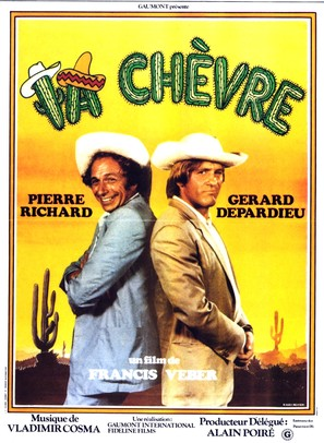 La chèvre - French Movie Poster (thumbnail)