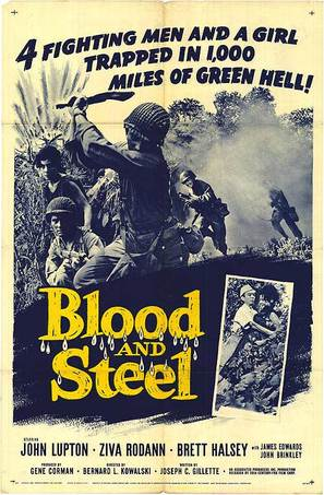 Blood and Steel - Movie Poster (thumbnail)
