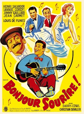 Bonjour sourire! - French Movie Poster (thumbnail)