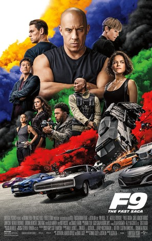 F9 - Movie Poster (thumbnail)