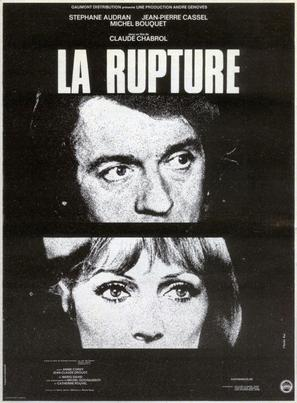 La rupture - French Movie Poster (thumbnail)