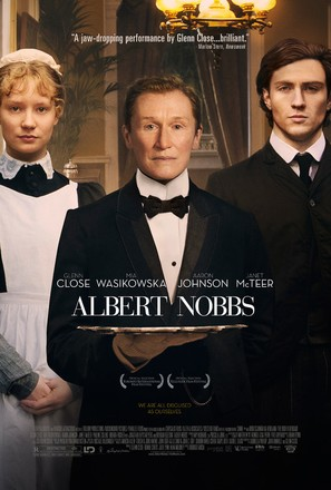Albert Nobbs - Theatrical movie poster (thumbnail)