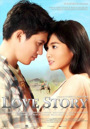 Love Story - Indonesian Movie Poster (thumbnail)