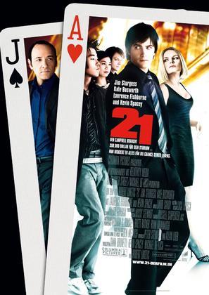 21 - German Movie Poster (thumbnail)