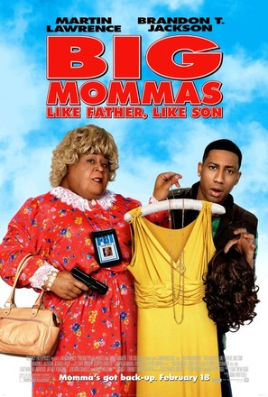 Big Mommas: Like Father, Like Son - Movie Poster (thumbnail)