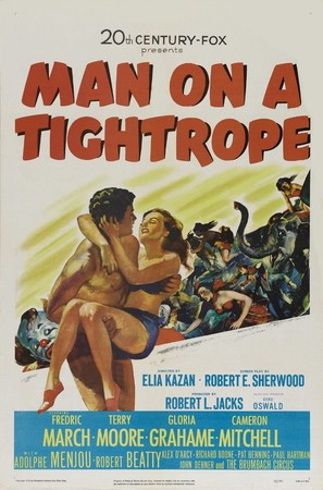 Man on a Tightrope - Movie Poster (thumbnail)