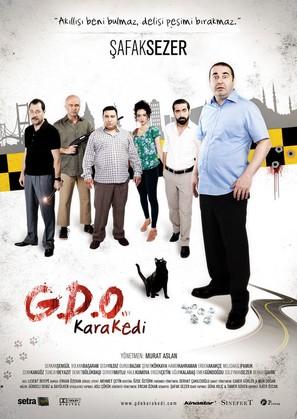 G.D.O. Kara Kedi - German Movie Poster (thumbnail)
