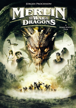 Merlin and the War of the Dragons - Movie Cover (thumbnail)