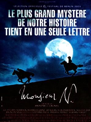 Monsieur N. - French Movie Poster (thumbnail)