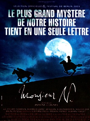 Monsieur N. - French Movie Poster (thumbnail)