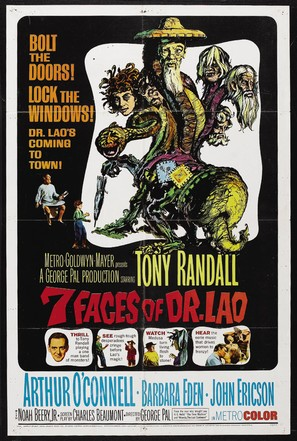 7 Faces of Dr. Lao - Movie Poster (thumbnail)