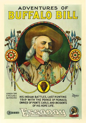 The Adventures of Buffalo Bill - Movie Poster (thumbnail)