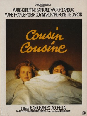 Cousin cousine - French Movie Poster (thumbnail)