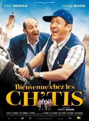 Bienvenue chez les Ch'tis - French Movie Poster (thumbnail)