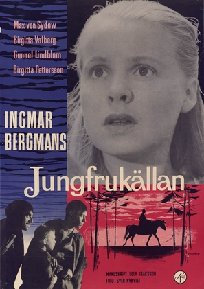 Jungfrukällan - Swedish Movie Poster (thumbnail)