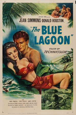 The Blue Lagoon - Movie Poster (thumbnail)