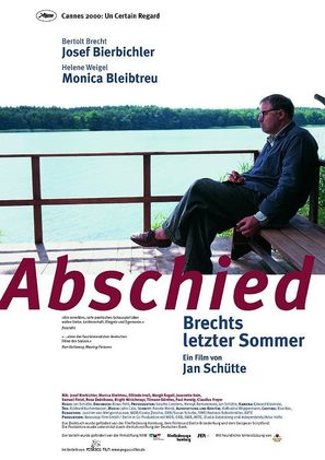 Abschied - Brechts letzter Sommer - German Movie Poster (thumbnail)