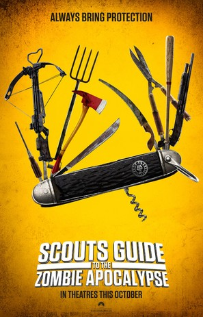Scouts Guide to the Zombie Apocalypse - Movie Poster (thumbnail)