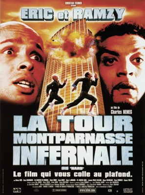 La tour Montparnasse infernale - French Movie Poster (thumbnail)