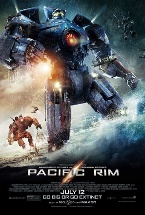 Pacific Rim - Movie Poster (thumbnail)