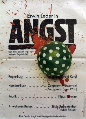 Angst - German Movie Poster (thumbnail)