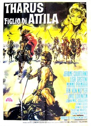 Tharus figlio di Attila - Italian Movie Poster (thumbnail)