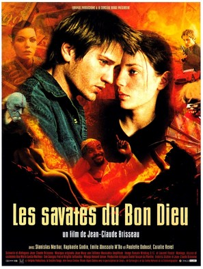 Les savates du bon Dieu - French Movie Poster (thumbnail)