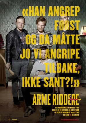 Arme Riddere - Norwegian Movie Poster (thumbnail)