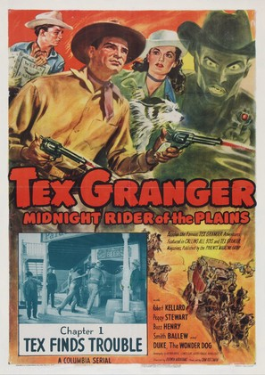 Tex Granger, Midnight Rider of the Plains - Movie Poster (thumbnail)