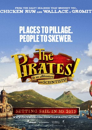 The Pirates! Band of Misfits - British Movie Poster (thumbnail)