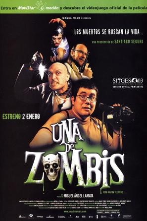 Una de zombis - Spanish Theatrical poster (thumbnail)