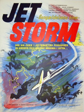 Jet Storm - Danish Movie Poster (thumbnail)