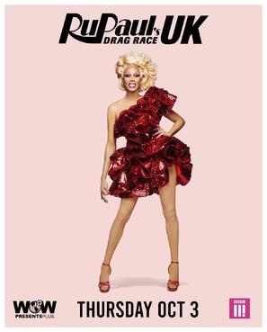 """RuPaul's Drag Race UK"" - British Movie Poster (thumbnail)"