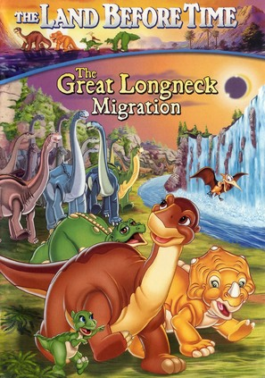 The Land Before Time X: The Great Longneck Migration - DVD movie cover (thumbnail)