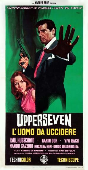 Upperseven, l'uomo da uccidere - Italian Movie Poster (thumbnail)