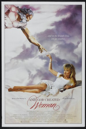 And God Created Woman - Movie Poster (thumbnail)